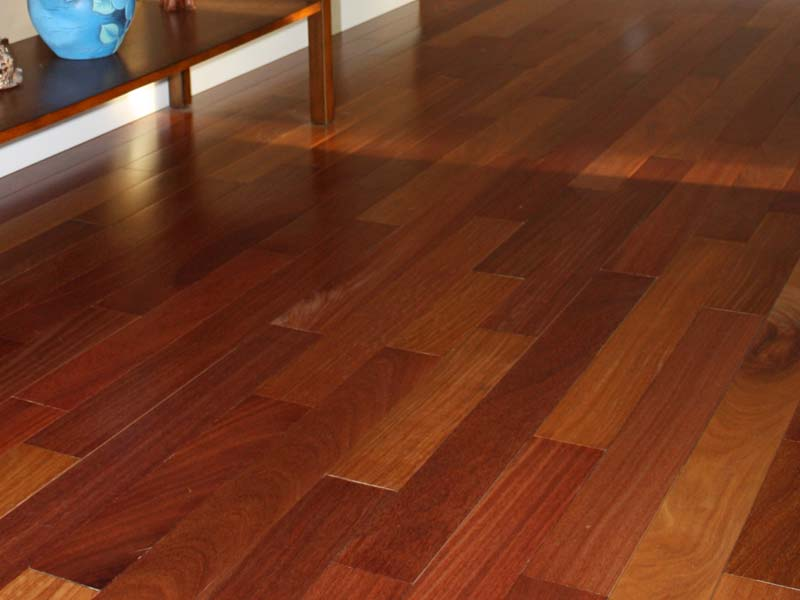 Brazilian teak lumber barefoot balcony offers five exotic for Red cumaru flooring