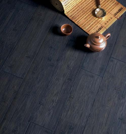Amazing Stained Bamboo Flooring