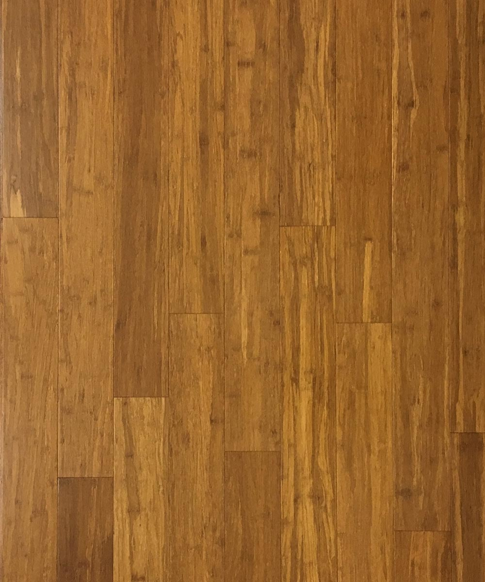 carbonized strand woven bamboo