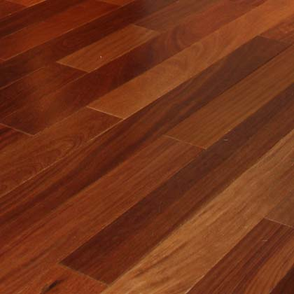 Exotic brazilian teak cumaru hardwood flooring for Red cumaru flooring